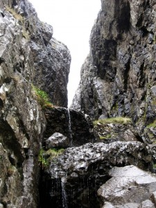 Looking up the Devil's Kitchen