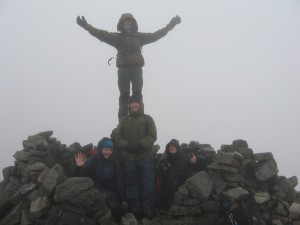 The summit of Cul Mor