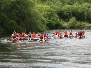 Still paddling strong